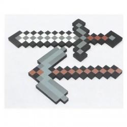 Pioche en mousse Minecraft