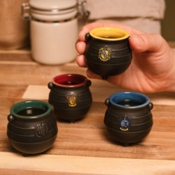 Lot 4 Tasse à expresso Harry Potter Chaudron