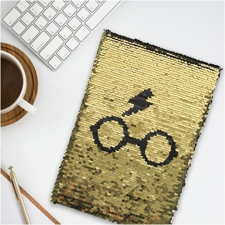 Carnet de notes Harry Potter Sequins