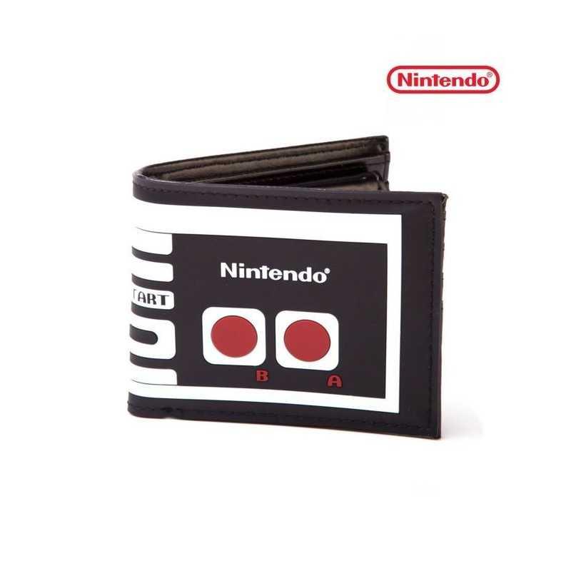 Portefeuille look manette NES