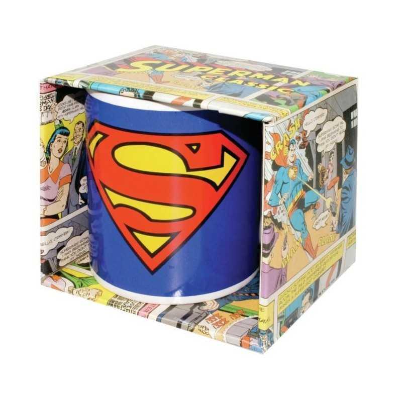 Mug Superman manche blanche