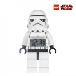 Réveil Lego Star Wars Stormtrooper blanc
