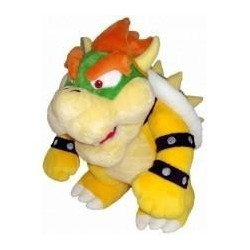 Peluche Bowser Super Mario Wii version