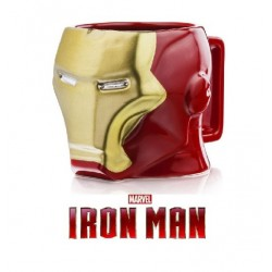 Mug Iron Man 3D Marvel