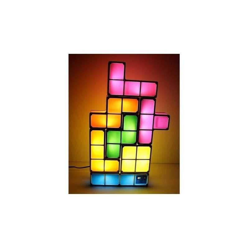 La geekerie Lampe Tetris geek