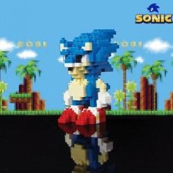 Briques Pixels Sonic le Herisson
