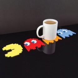 Pack 4 sous-verres Pacman