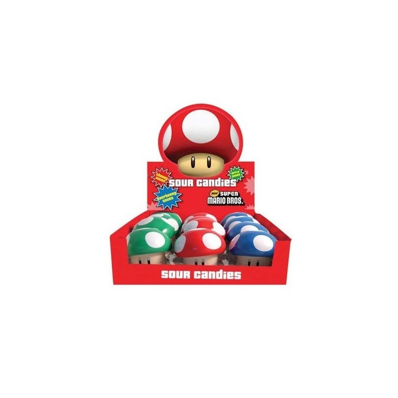 Bonbons Nintendo Champignons Super Mario Bros