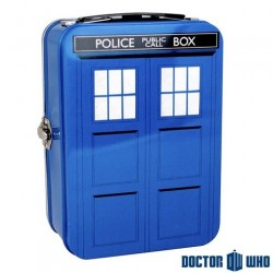 Mallette Tardis Dr Who metallique