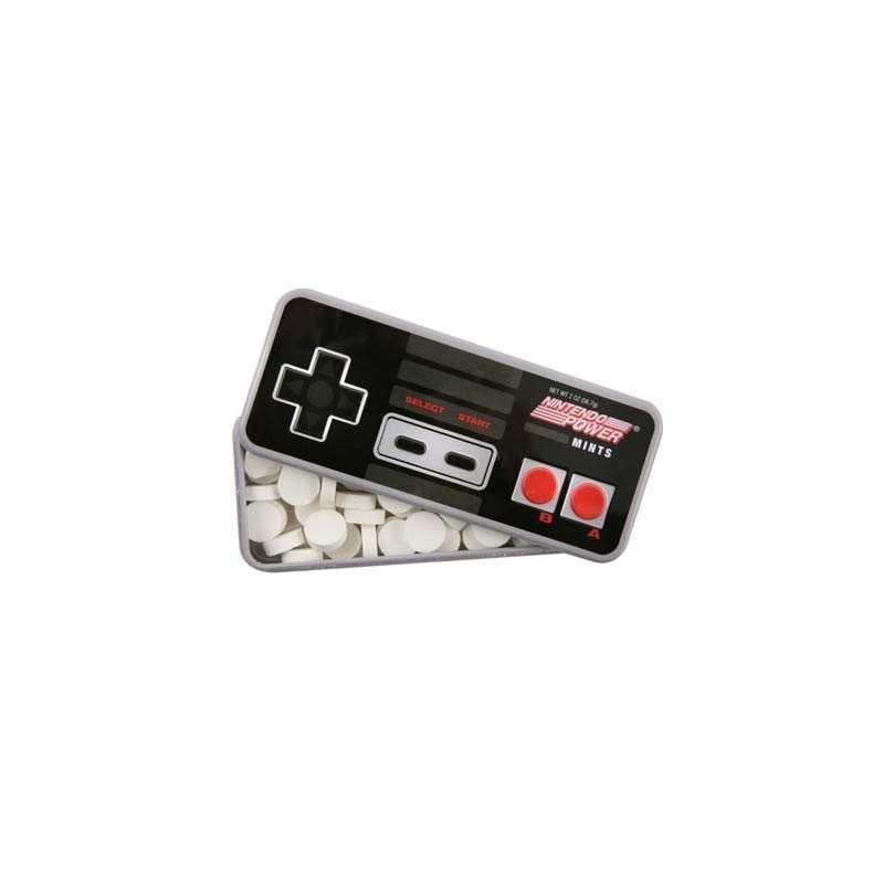 Bonbons manette NES Nintendo Power mints