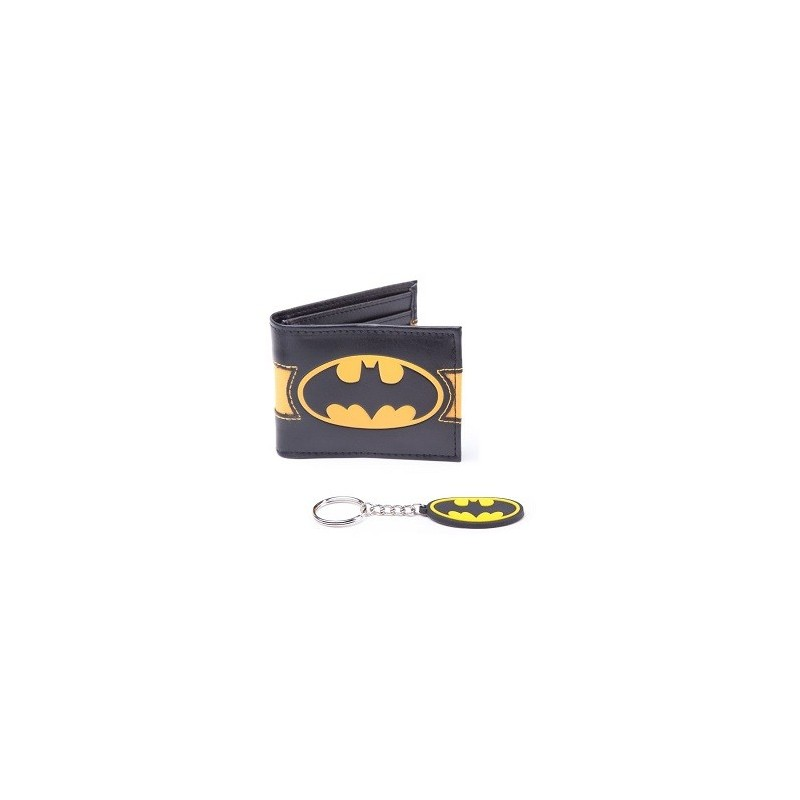 Portefeuille Batman avec porte-clef