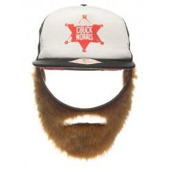 Casquette barbe Chuck Norris