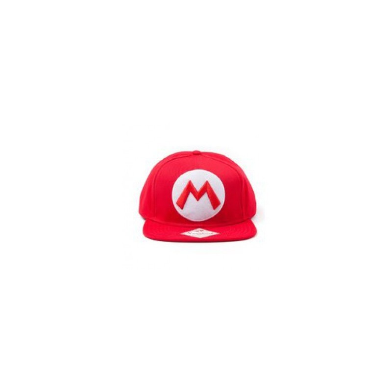 Casquette Mario Logo M