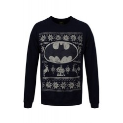 DC Comics Sweater Christmas Jumper Batman Logo
