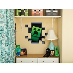 Stickers Creeper Inside Wall Cling