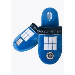 Chaussons Doctor Who Tardis