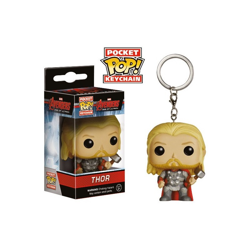 Porte-clés Thor Avengers l'ère d'Ultron Pop vinyl