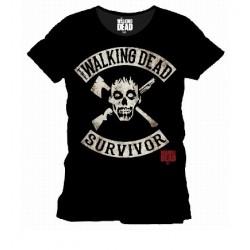 T-Shirt Walking Dead Survivor Black