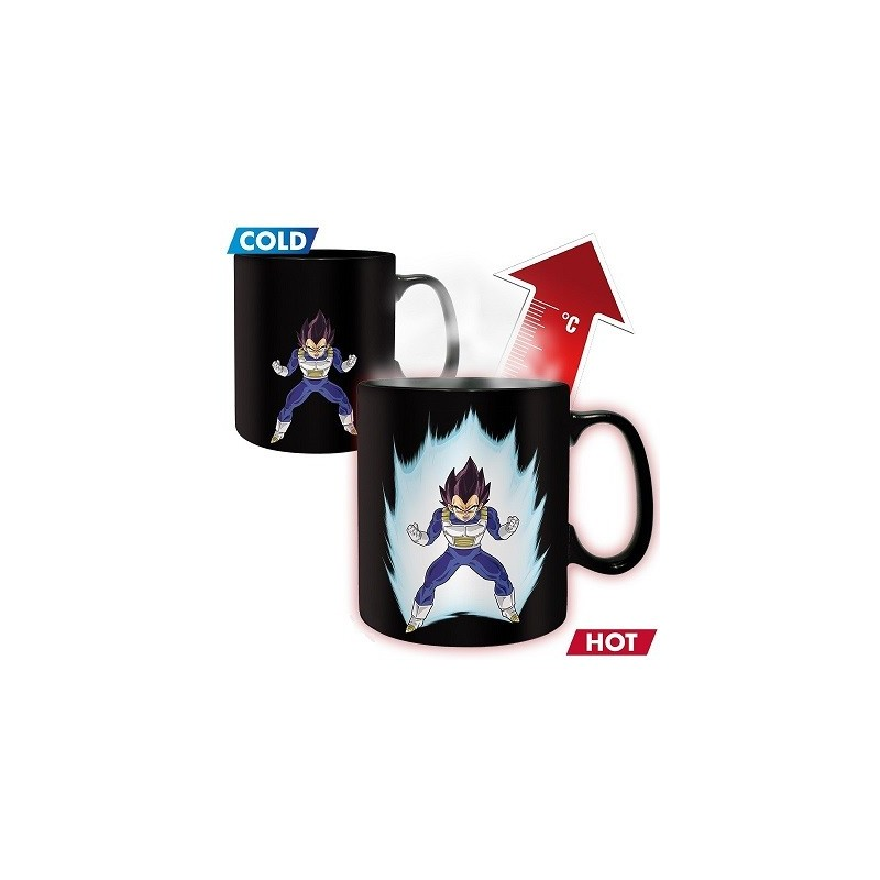 Mug Dragon ball Chaud Froid Vegeta