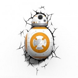 Star Wars lampe 3D LED BB-8
