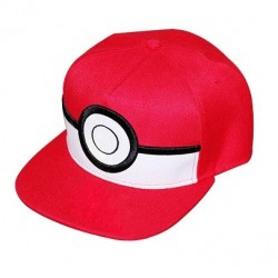 Casquette pokemon 3D Pokéball