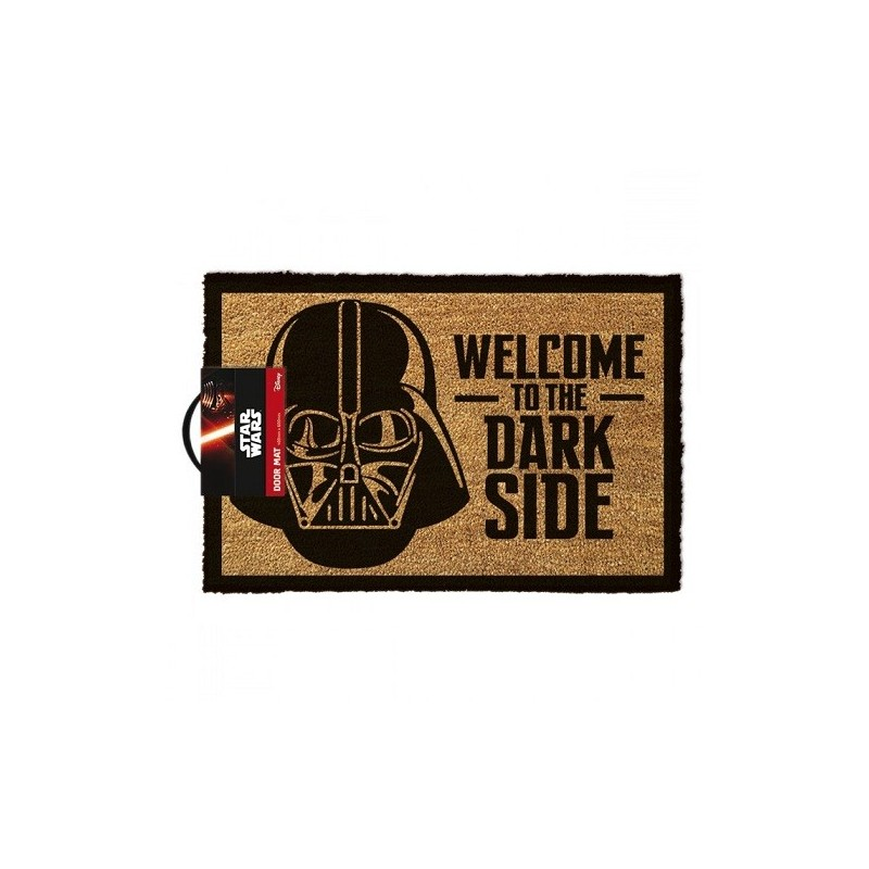 """Paillasson Dark Vador """"Welcome to the Dark Side"""""""