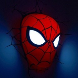 Marvel Comics lampe 3D LED Spider-Man Mask