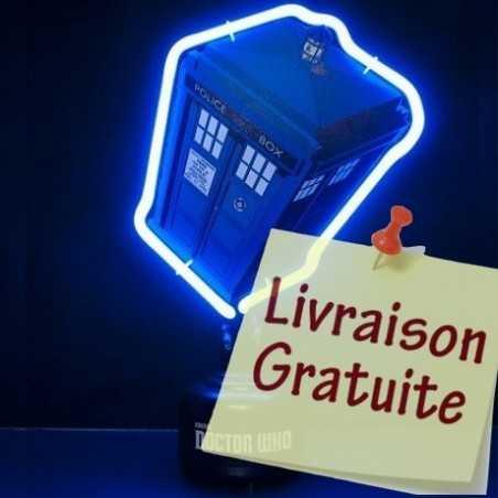 Lampe neon Tardis Dr Who