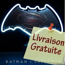 Lampe neon Batman vs Superman