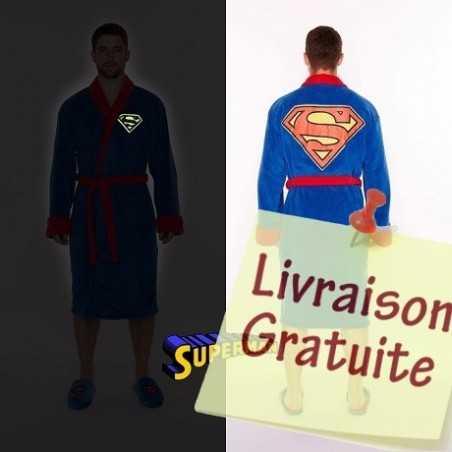 Peignoir Superman phosphorescent
