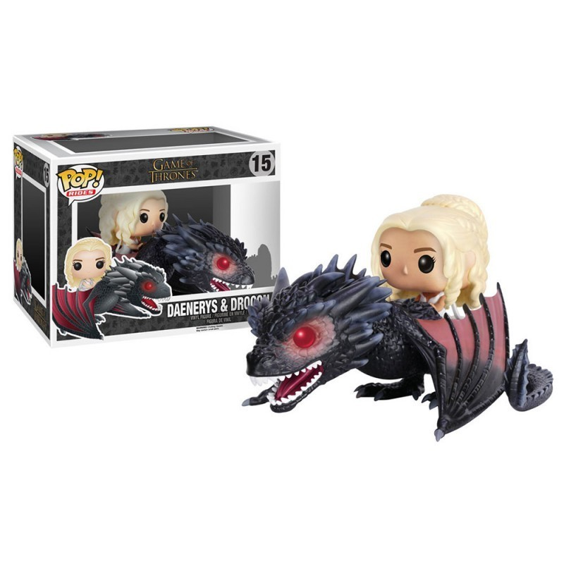Funko POP Daenerys rides Drogon
