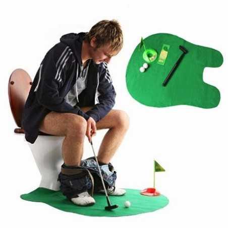 Mini golf de toilettes