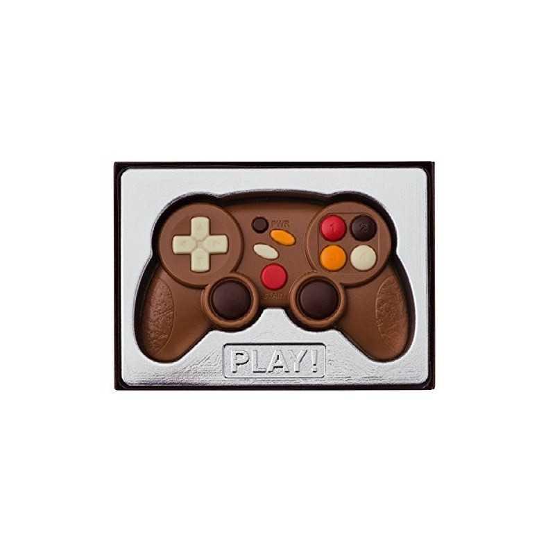 Manette jeu en chocolat