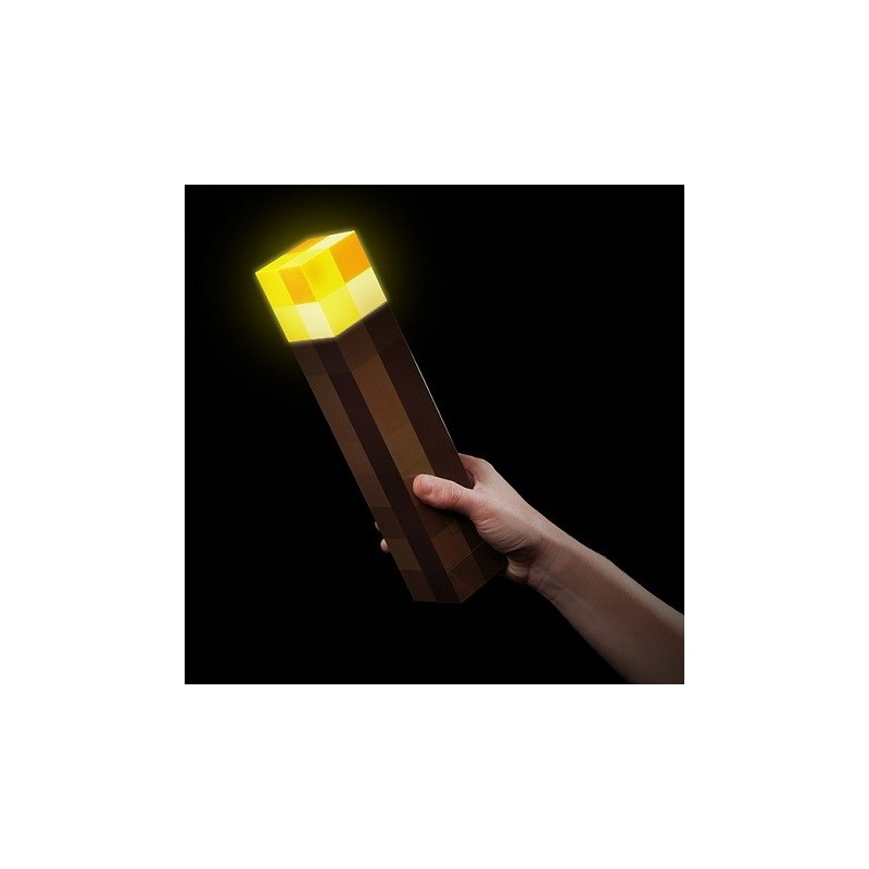 Lampe torche Minecraft