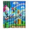 Rideau de douche Super Mario