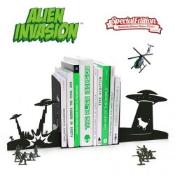 Serre-livres Invasion Ovni
