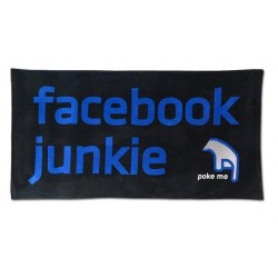 Serviette Facebook junkie