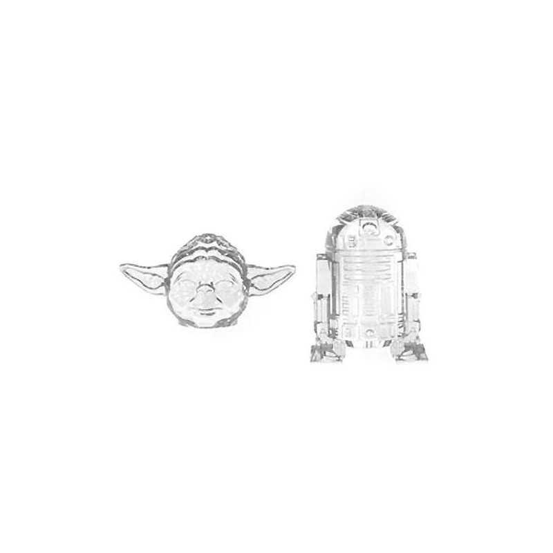 Moule a glaçons Yoda et R2D2