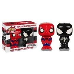 Set salière et poivrière Pop Spiderman et Venom