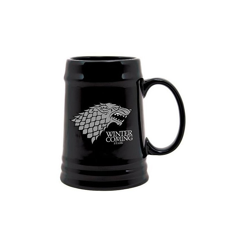 Chope noir Stark Game of thrones