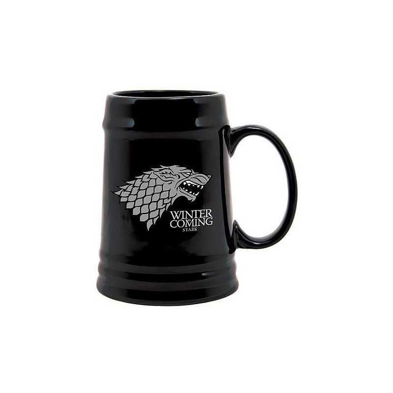 Chope noir Stark Game of thrones