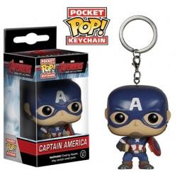 Porte-clés Captain America Avengers l'ère d'Ultron Pop vinyl