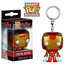Porte-clés Captain Iron Man Avengers l'ère d'Ultron Pop vinyl