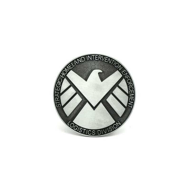 Boucle de ceinture agent du shield Marvel