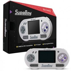 Console portable Super NES supaboy retro