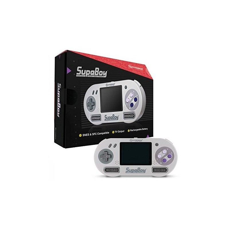 Console portable Super NES supaboy retro