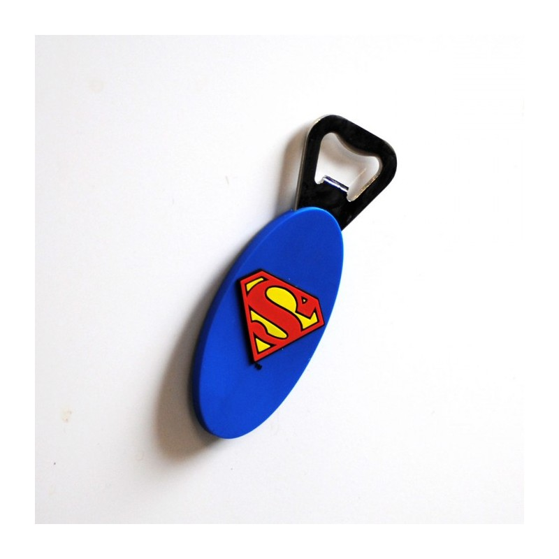 Decapsuleur Superman Logo Magnetique