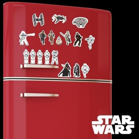 Aimants frigo Star Wars 7