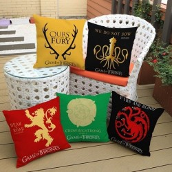 Taies d'oreiller coussin Game Of Thrones