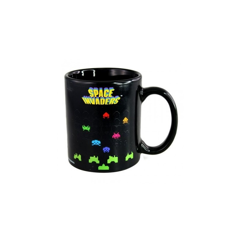 Mug Space Invaders thermoreactif